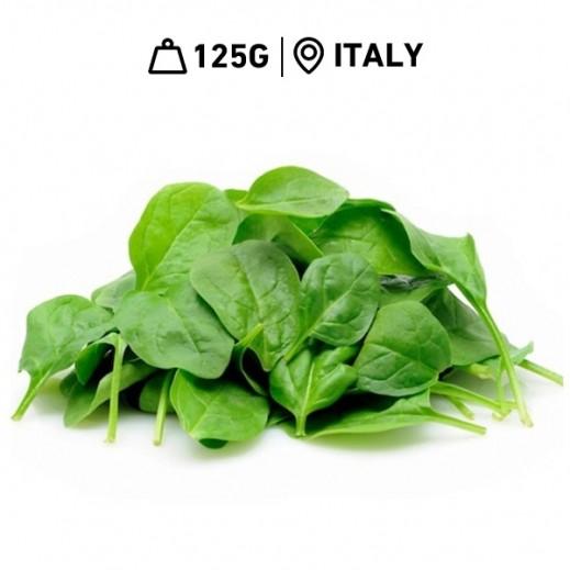 Fresh Italian Baby Spinach (125 g Approx)