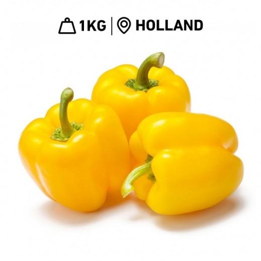 Fresh Dutch Yellow Capsicum (1 kg Approx.)