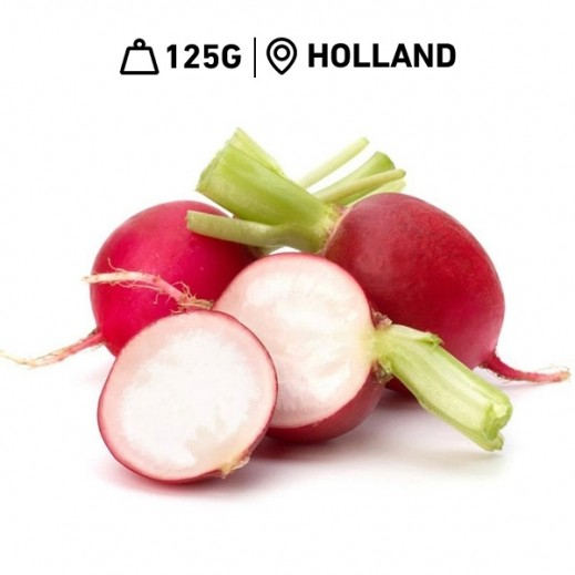 Fresh Holland Radish Red Pack (125 g Approx)
