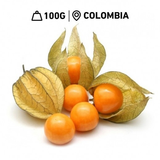 Fresh Colombian Physalis (100 g Approx)