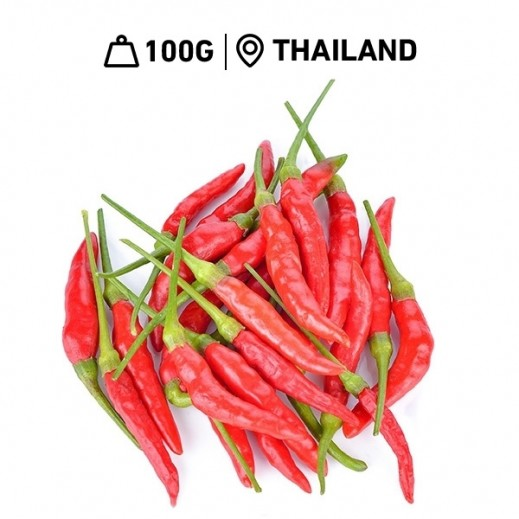 Fresh Thai Red Chili (100 g Approx.)