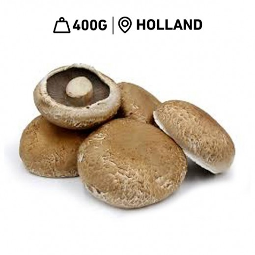 Fresh Dutch Portobello Mushrooms (400 g Approx.)