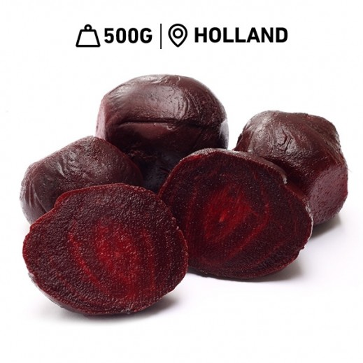 Fresh Dutch Cooked Beetroot Pack (500 g Approx.)