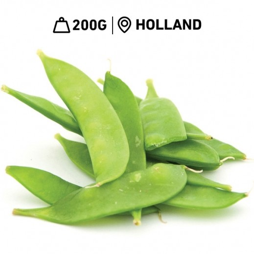 Fresh Dutch Snow Peas (200 g Approx.)