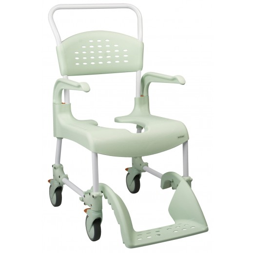 Etac Clean Commode Shower and Toilet Chair - delivered by Al Essa Company