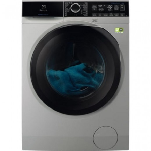 Electrolux 10KG Front Load Washer 1600 RPM - Silver - delivered by Jashanmal Within 3 days