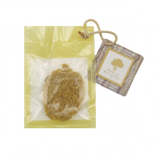 Martini SPA Face And Body Bath Sponge With Vegetable Granules
