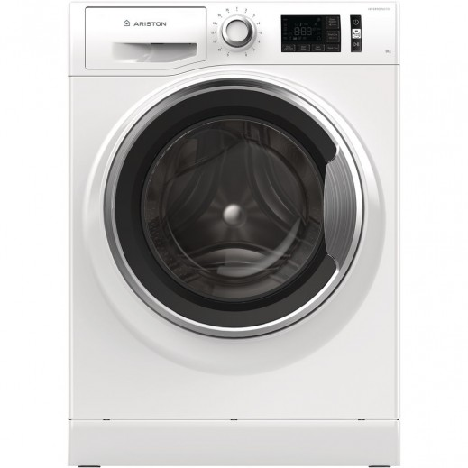 Ariston Front Load Washing machine 9 kg - Silver - delivered by AL ANDALUS After 3 Working Days