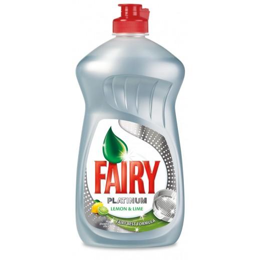 Fairy Platinum Dish Wash Liquid With Lemon 625 ml