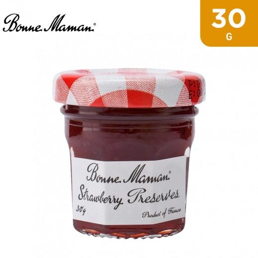 Bonne Maman Strawberry Jam Jar 30 g
