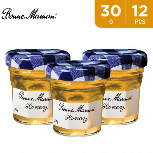 Bonne Maman Honey Jam Jar 12 x 30 g
