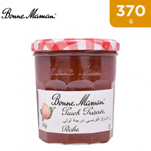 Bonne Maman Peach Jam Jar 370 g