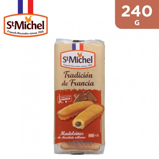 St Michel16 Madeleine Chocolate & Hazelnut Filling 240 g