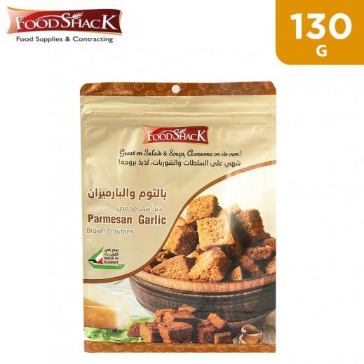 Food Shack Brown Croutons Parmesan Garlic 130 g