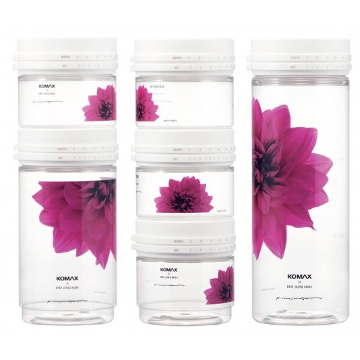 Komax Flower Daykips Econo Plastic Container Set - 6 Pieces