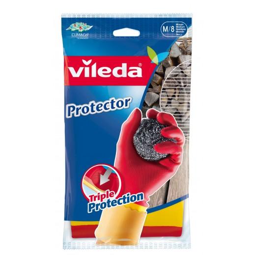 Vileda Protecor Durable Gloves Medium Size