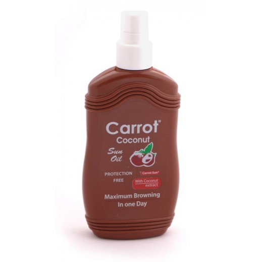 Carrot Sun -Tanning Oil Coconut 200 ml