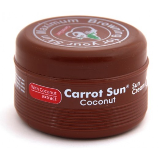 Carrot Sun -Tanning Cream Coconut 350 ml