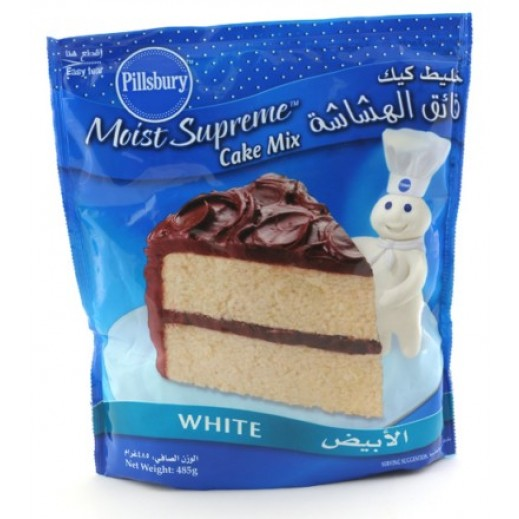 Pillsbury White Cake Mix 485 g
