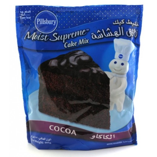 Pillsbury Cake Mix Cocoa 485 g