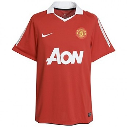 Manchester United Home Official Jersey  Small