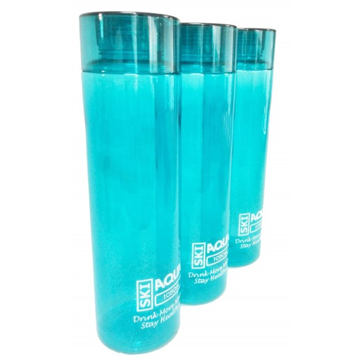 Finland Water Bottle 1050 ml (Assorted Colors) - 3 Pieces