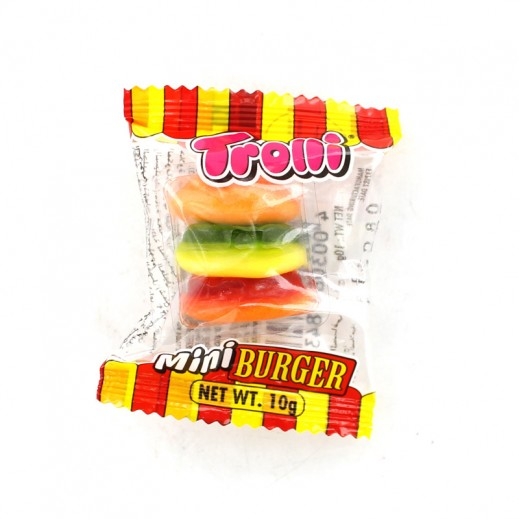 Trolli Jelly Candy Mini Burger 12 g
