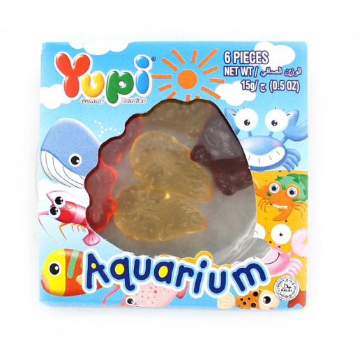 Yupi Jelly Candy Aquarium (6 pieces) 15 g