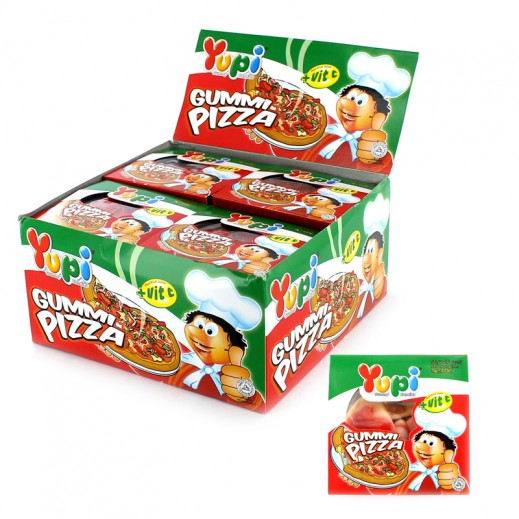 Yupi Jelly Candy Pizza (4 pieces) 24x15 g