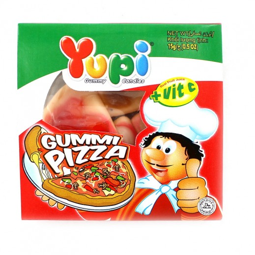 Yupi Jelly Candy Pizza (4 pieces) 15 g