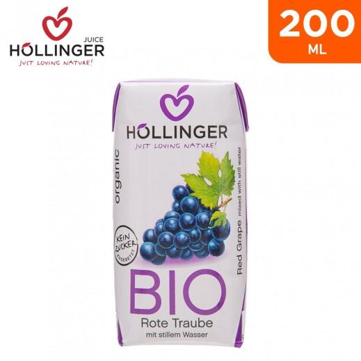 Hollinger Organic Bio Red Grape 200 ml