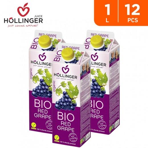 Hollinger Organic Bio Red Grape Drink 12 x 1 L