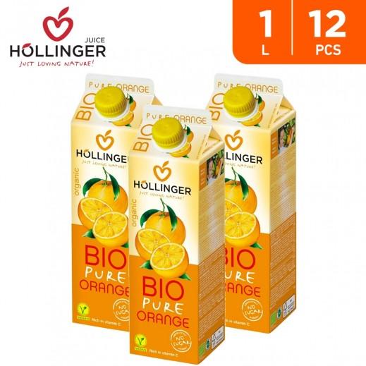 Hollinger Organic Bio Pure Orange Drink 12 x 1 L