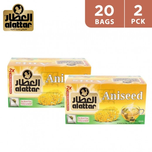 Alattar Aniseed Tea 2 x 20 Teabags