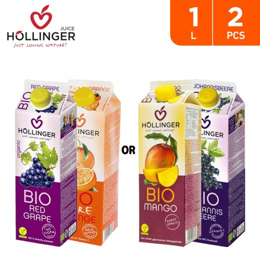 Hollinger Bio Assorted Juice 2 x 1 L