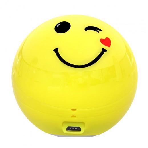 Promate FlirtyFunk Bluetooth Emoji Speaker – Yellow