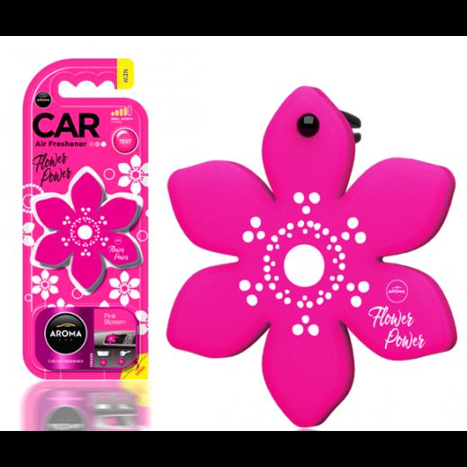 Aroma Flower Car Freshener – Pink Blossom