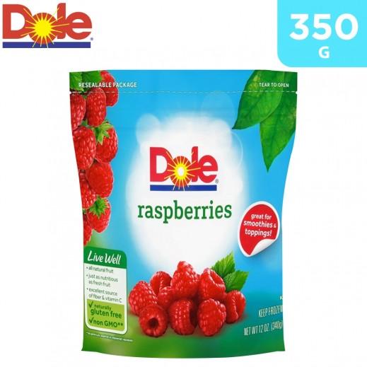 Dole Frozen Raspberries Fruit 350 g