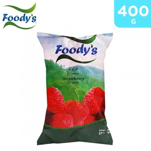 Foody's Frozen Strawberry 400 g