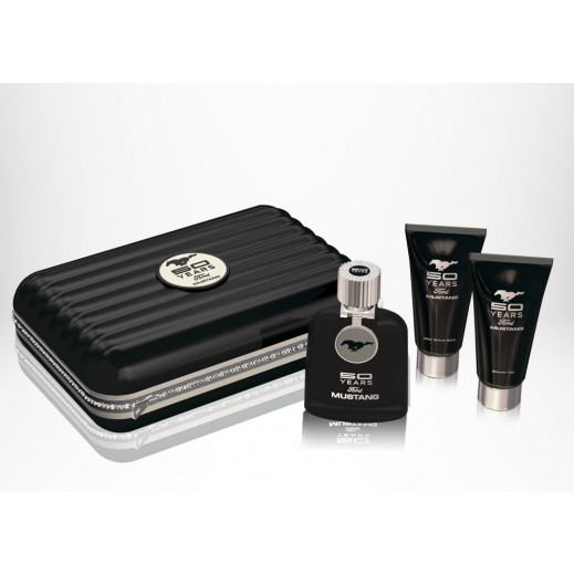 Ford Mustang For Him EDT 100 ml + Shower Gel 100 ml + After Shave Balm 100 ml