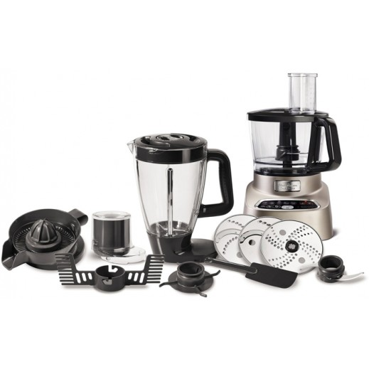 Moulinex 1000 W 3L Food Processor - Silver  - delivered by  AL-YOUSIFI after 3 Working Days