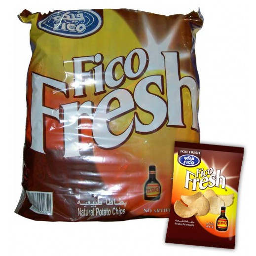 Fico Fresh B.B.Q Chips 16 g (20 Pieces)