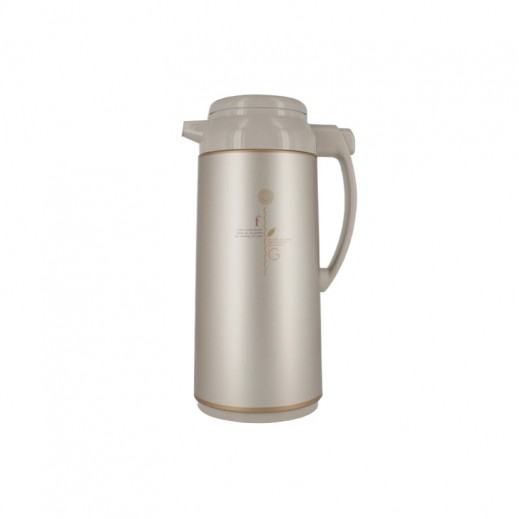 Zojirushi AGYE10 Handy Pot Flask 1 ltr with Head button Herb Cacao