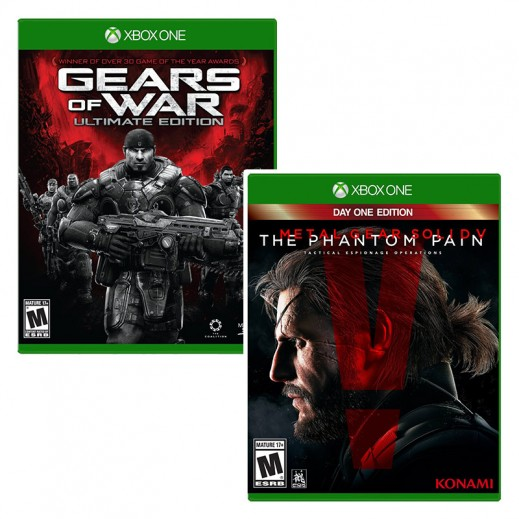 Gears of War - Ultimate Edition for Xbox One - NTSC + Metal Gear Solid V: The Phantom Pain for XBox One - NTSC