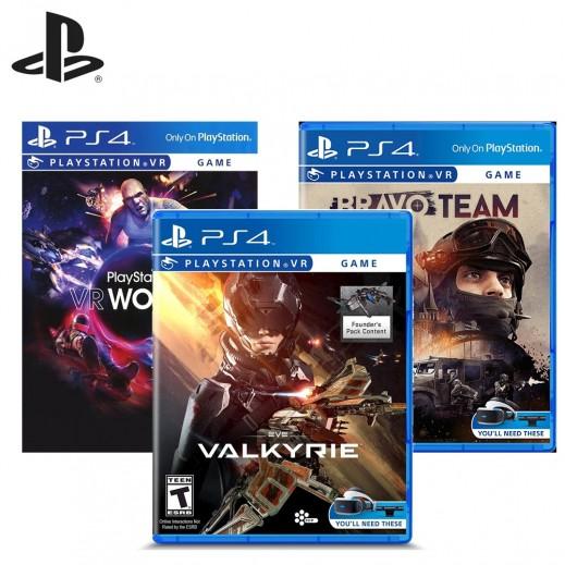 PS4 Bundle of 3 VR Video Games