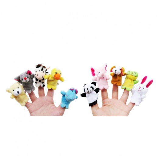 Finger Puppets 10 Pieces Set