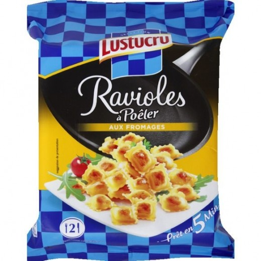 Lustucru Ravioles A Poeler Fromages Selectionnes 280 g