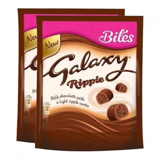 Galaxy Ripple Chocolate Pouch 2x140 g