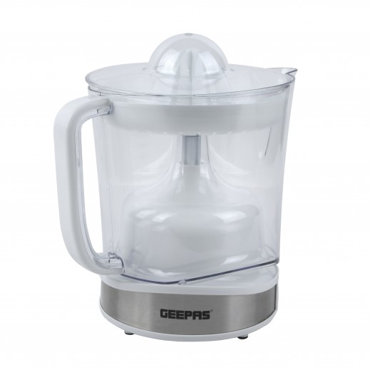 Geepas 100W Citrus Electric Juicer 1.5L - White