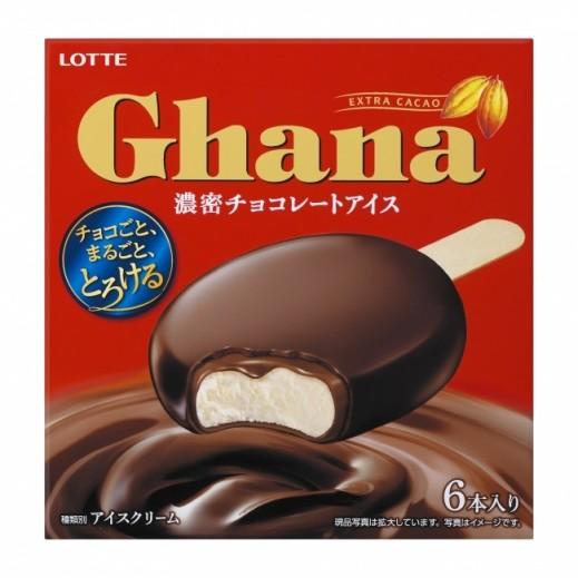 Lotte Ghana Thick Chocolate Ice Cream 330 ml